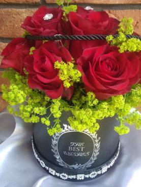 Klasické červené ruže