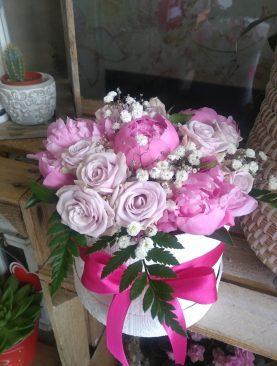 Romantická ružová kombinácia
