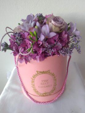 Ružový box