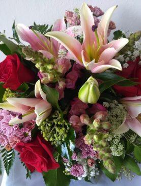 Romantická miešaná kytica