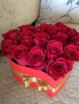Srdce plné ruží