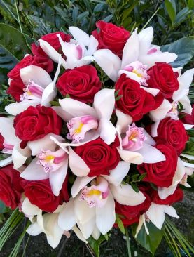 Luxusná kombinovaná kytica