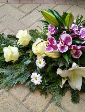 Smútočná kytica Orchidea