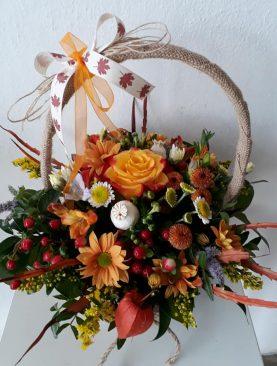 Jesenný košík